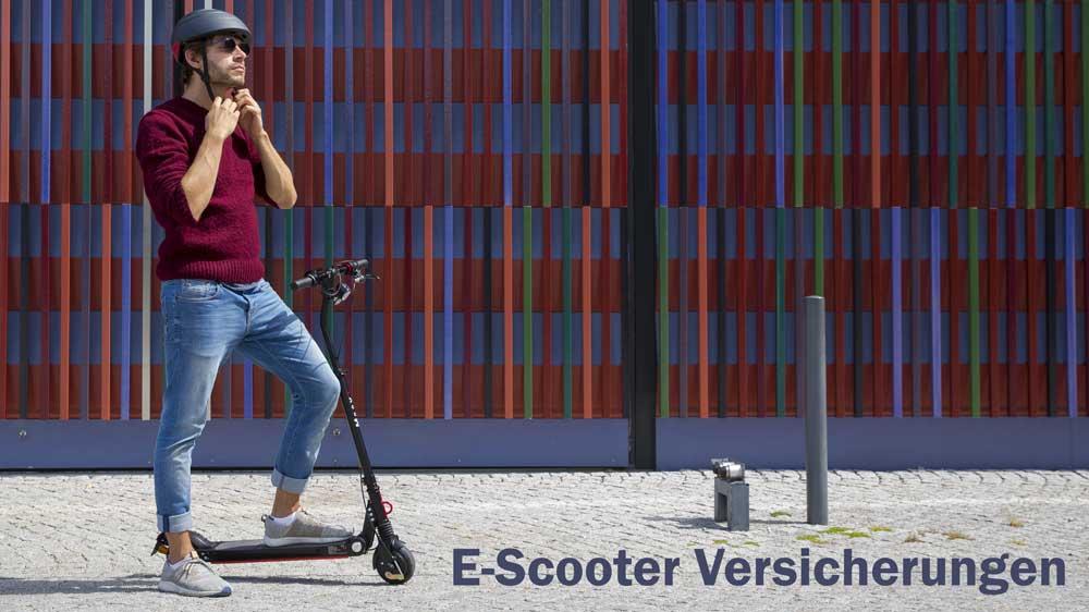 E-Scooter Versicherungen
